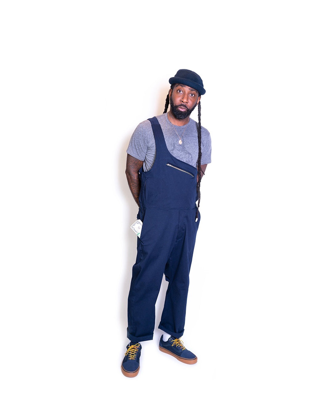 the Vault 1 strap overalls- pre-order