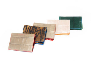 scrap leather wallets- multiple options