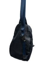 Load image into Gallery viewer, sling bag- navy blue wax