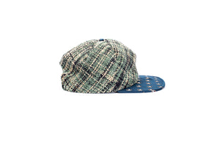 your uncles couch fabric hat-one off