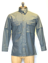 Load image into Gallery viewer, army shirt- grey poplin
