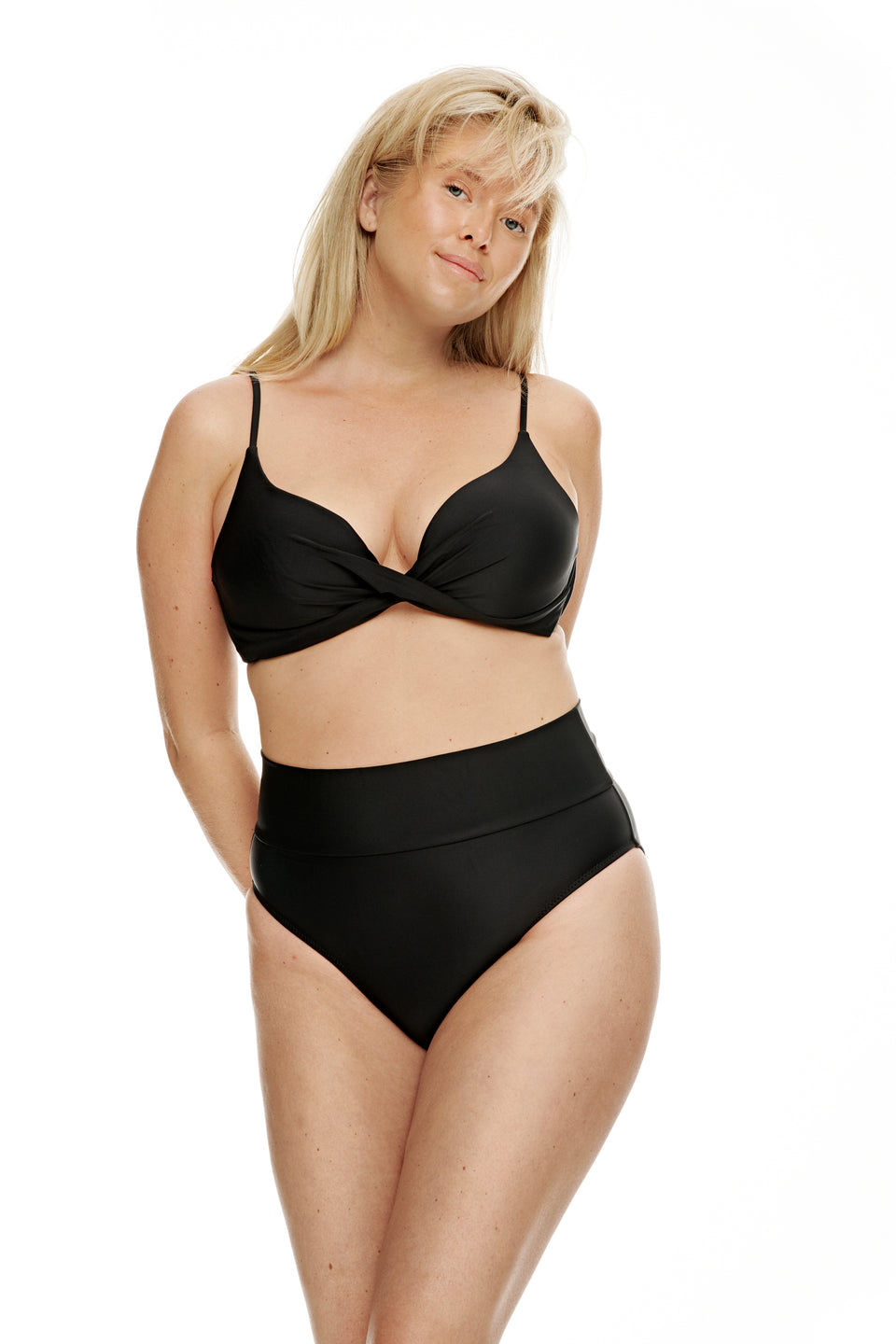 Bermuda top-BLACK