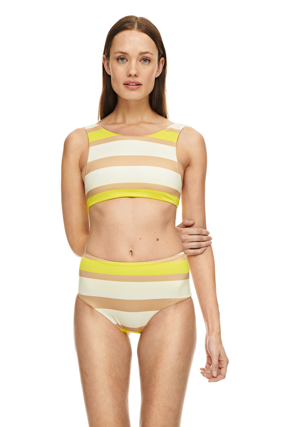 Mentawai top-RETRO STRIPE