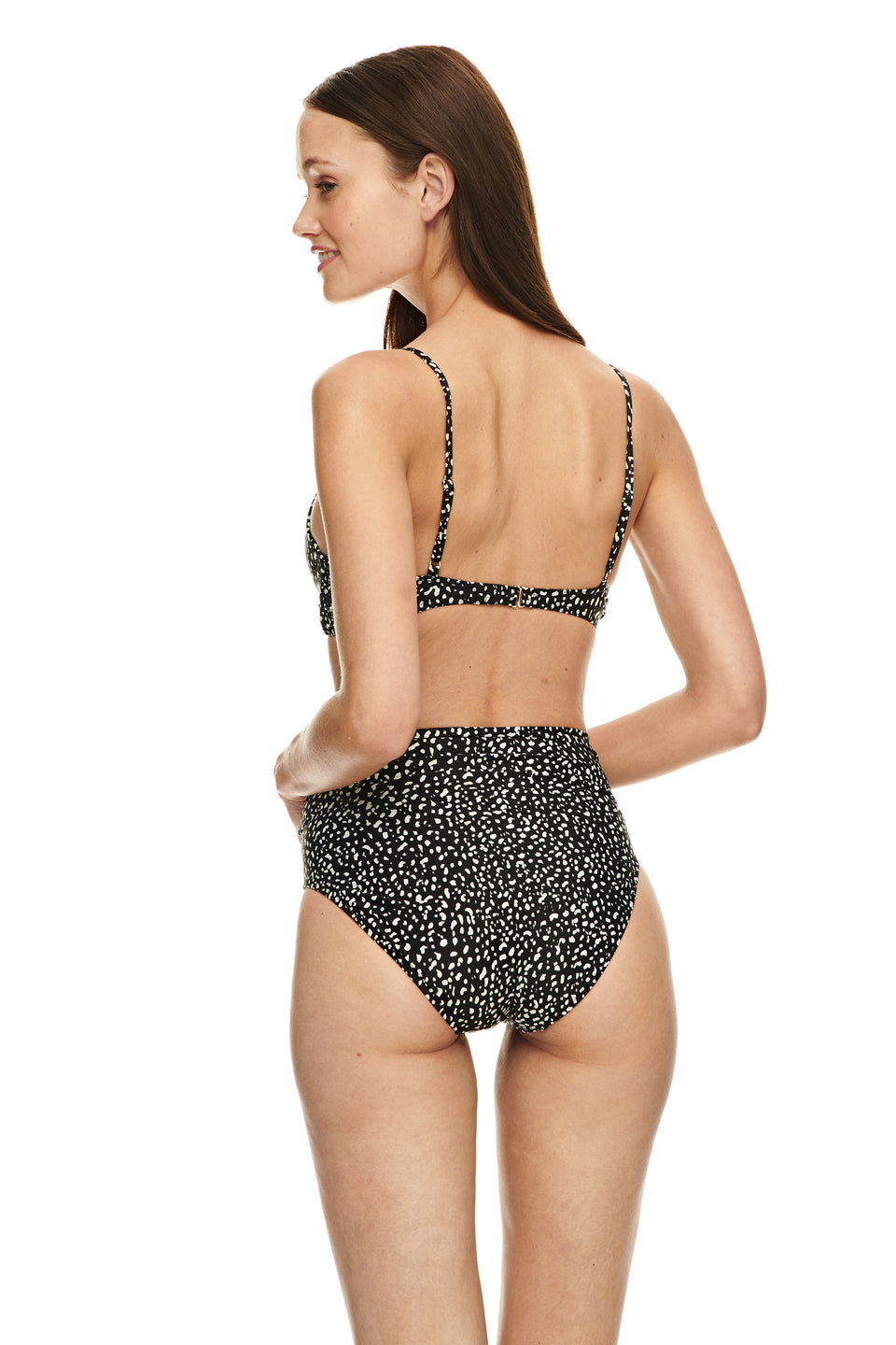 Sara bottom-SPOT BLACK