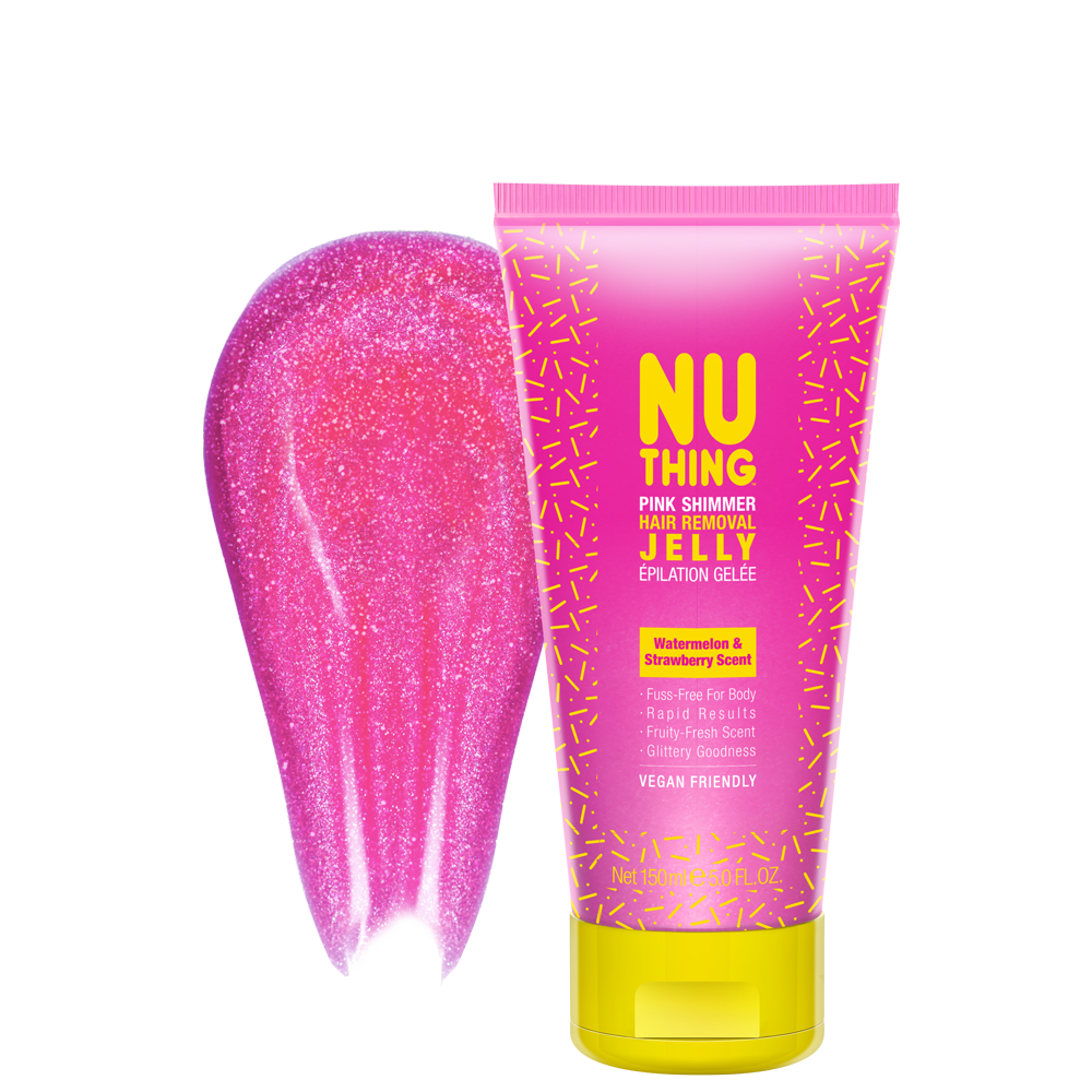 Pink Shimmer Hair Removal Jelly 150ml