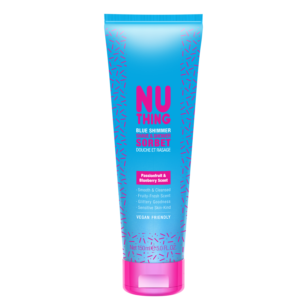 Blue Shimmer Shave & Shower Sorbet 150ml