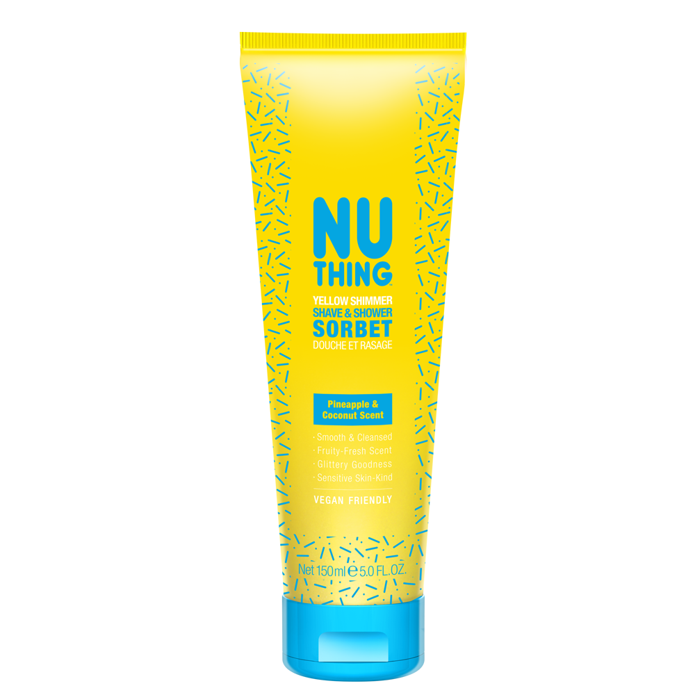 Yellow Shimmer Shave & Shower Sorbet 150ml