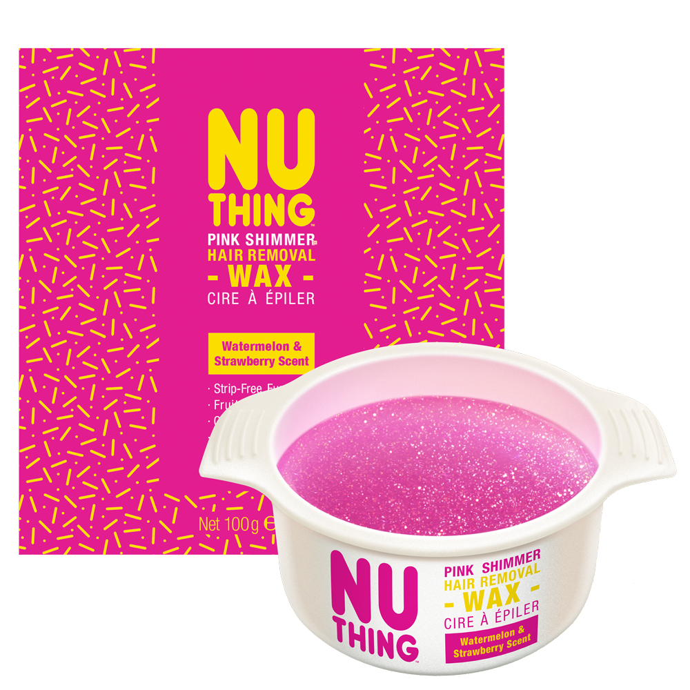 Pink Shimmer Hair Removal Wax 100g