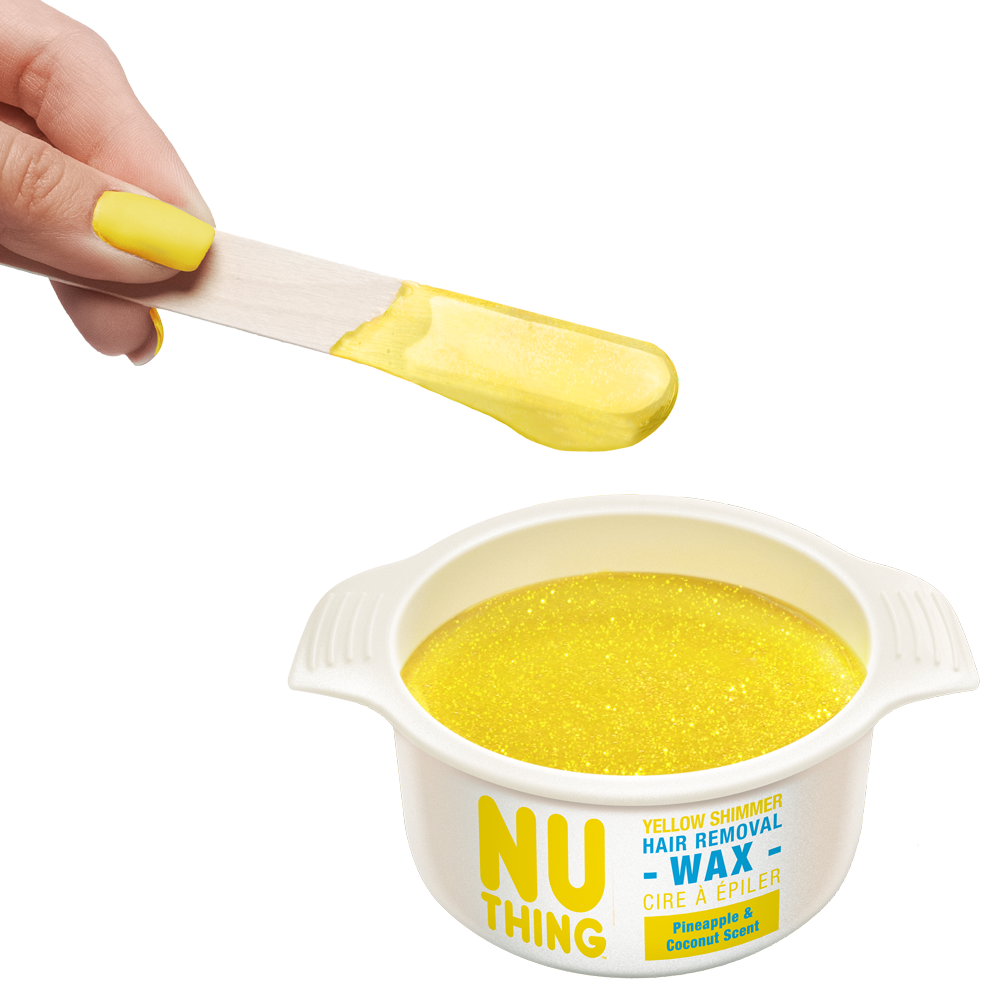 Yellow Shimmer Hair Removal Wax 100g