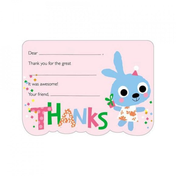 Bunny Thank You Cards- 8 ct.