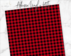 Buffalo Plaid Vinyl