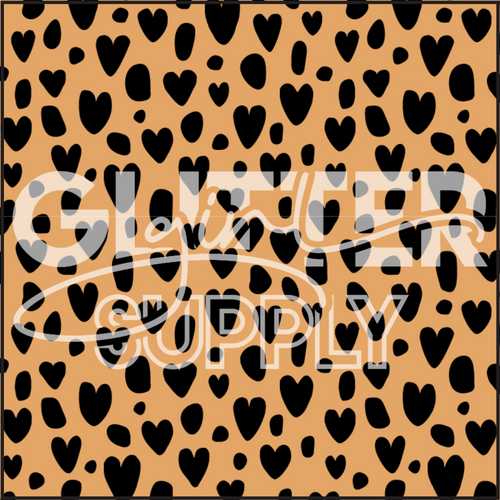 Heycute Leopard Hearts Orange