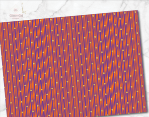 Orange Purple Background