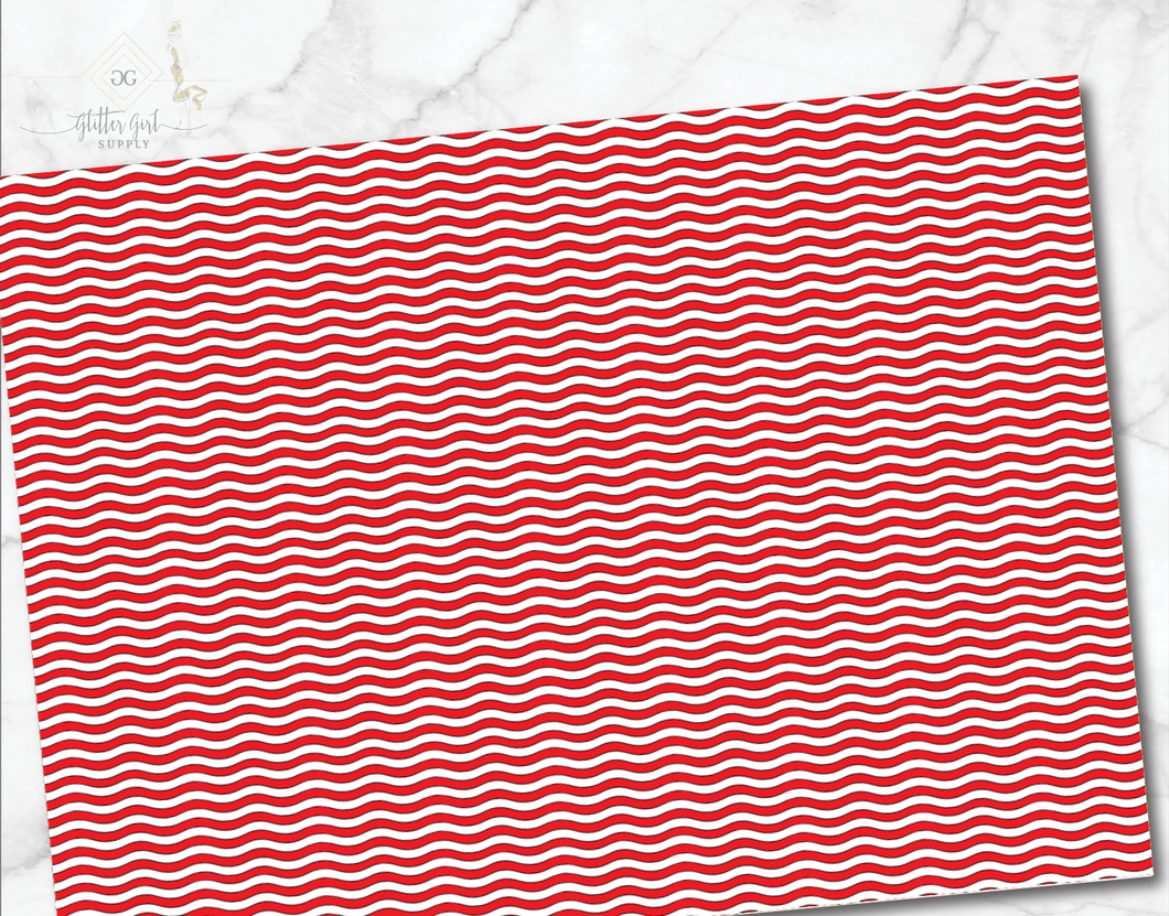 Red White Waves