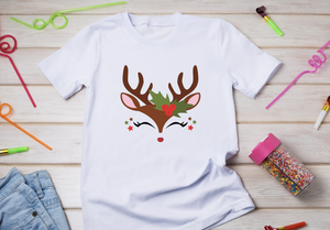 HTV Transfer Cute reindeer brown
