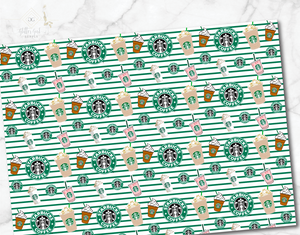 Starbucks sheets