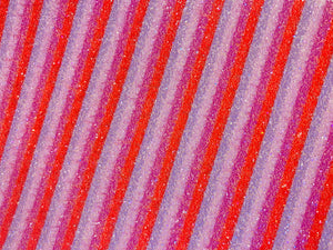 Chunky glitter red pink purple lines