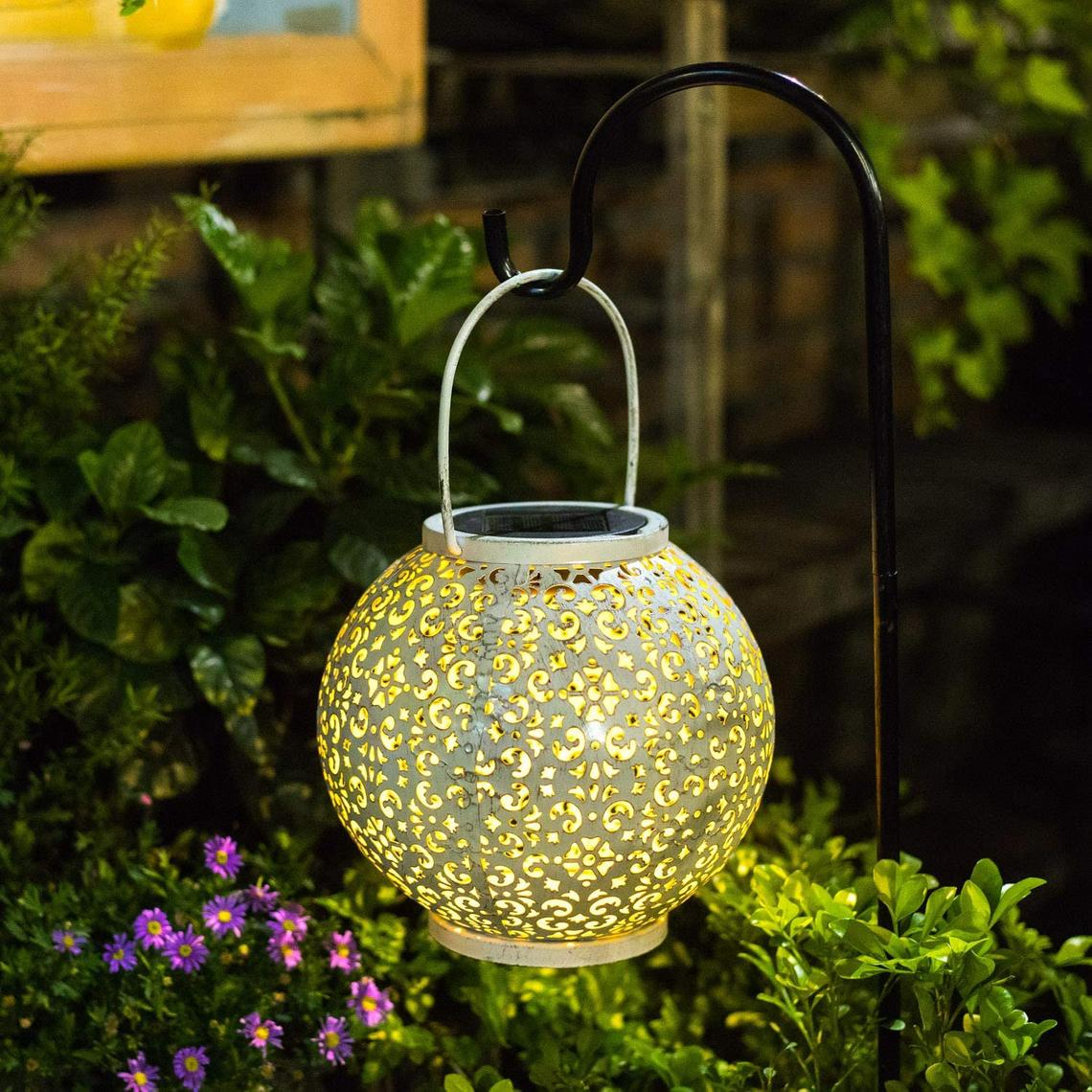 Lantern Hanging lights outdoor for Patio Garden Lawn