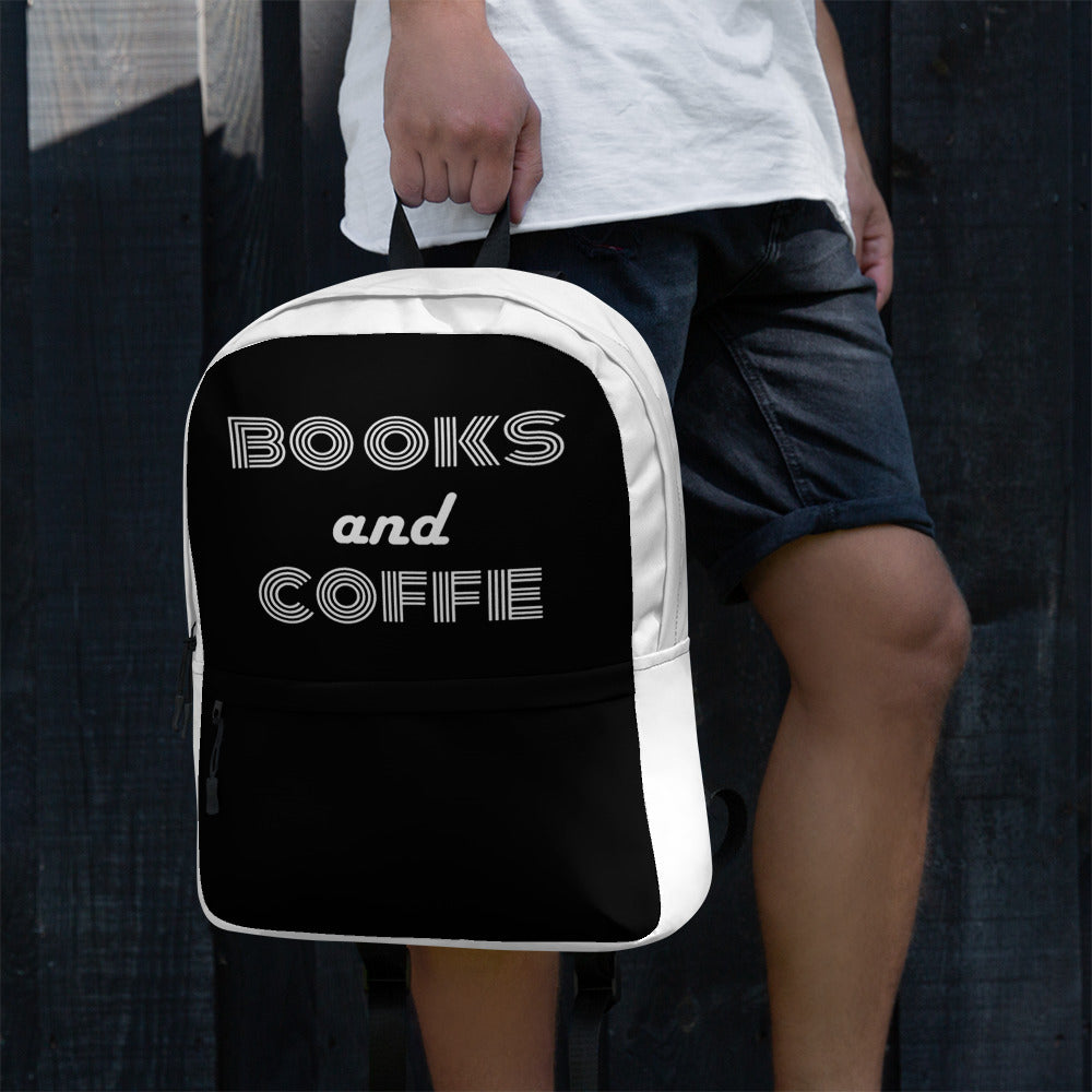 Books And Coffee - Book Lover Gift.Backpack