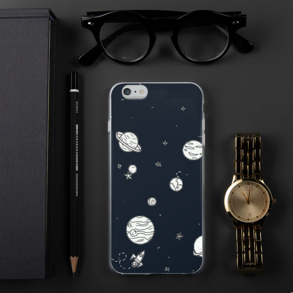 Planets Space, iPhone Case