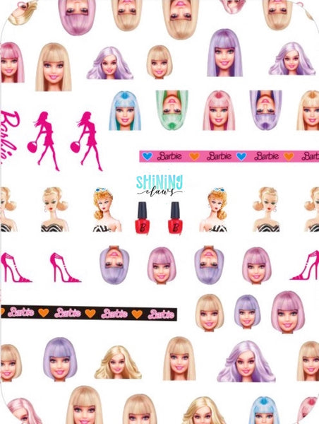 Barbie Girl Stick-Ons
