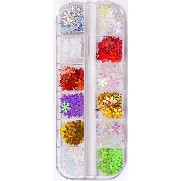 Snow Flake Glitter Set