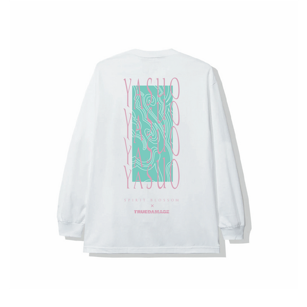 True Damage x Spirit Blossom Yasuo Long Sleeve