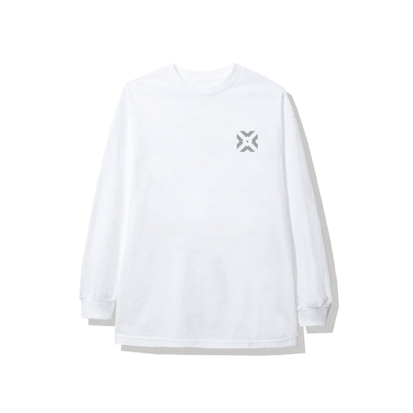 5V5 White Long Sleeve Tee