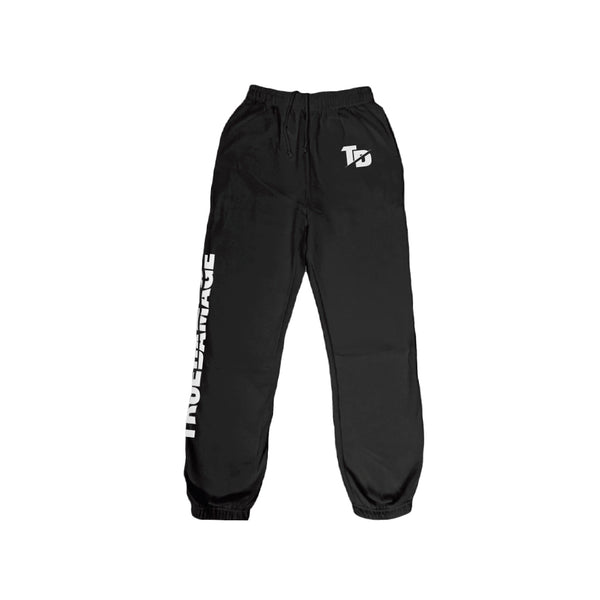 True Damage Black Sweatpants