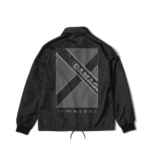 "True Damage ""X"" Coach Jacket"