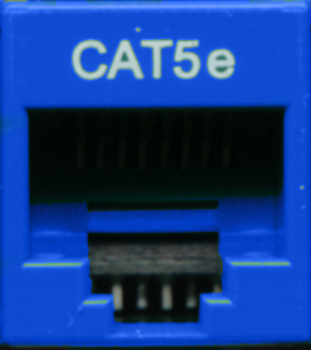Cat5e Punchdown Keystone - Blue