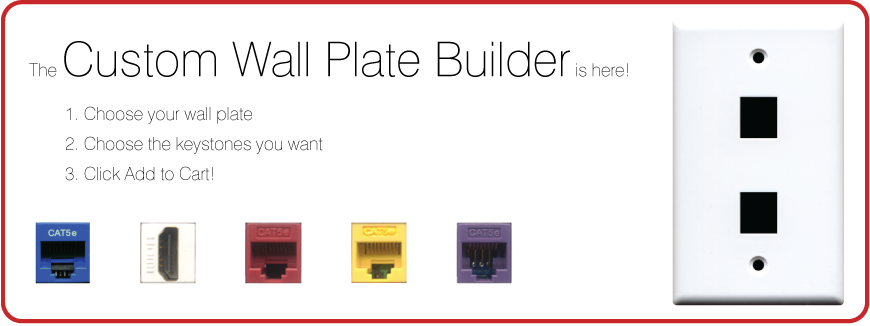 The Custom Wall Plate Builder is Here!
