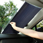 Retractable Sun Shade Car