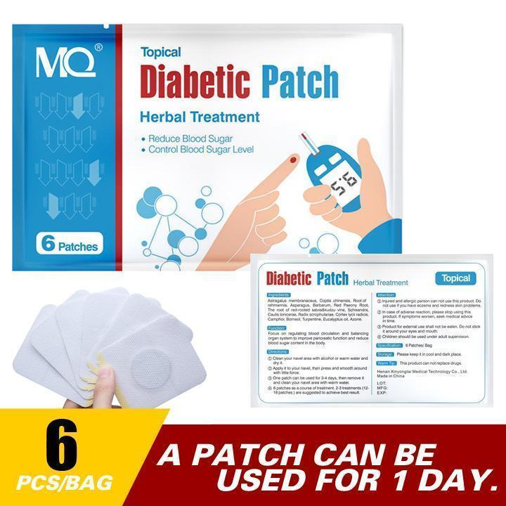 Natural Diabetic Patches For Diabetics | Anti-Diabetic Patch (6 Patches)