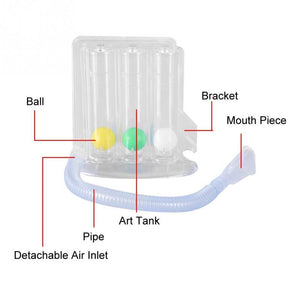 Deep Breathing Trainer | Adult Incentive Spirometer