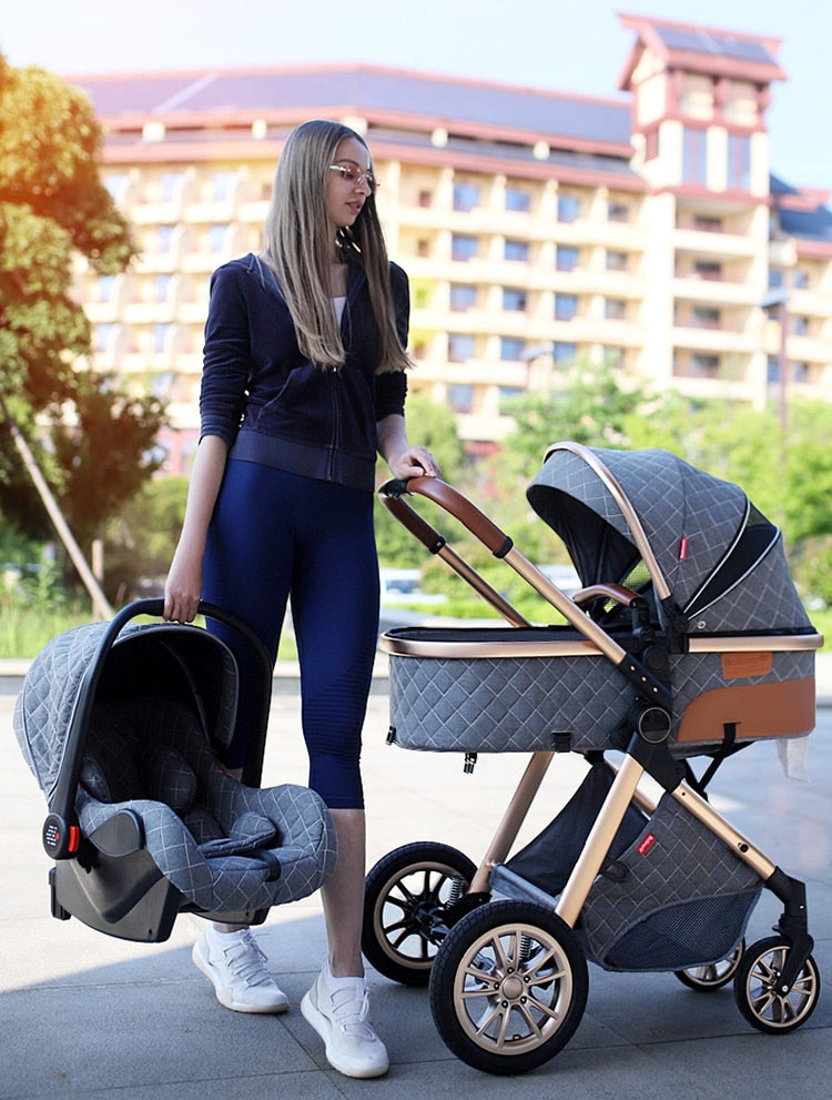 3 in 1 Portable Convertible Baby Stroller Set