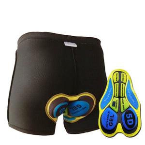 Men's Underpants Mountain Bike Shorts | Bicycle padded Underwear