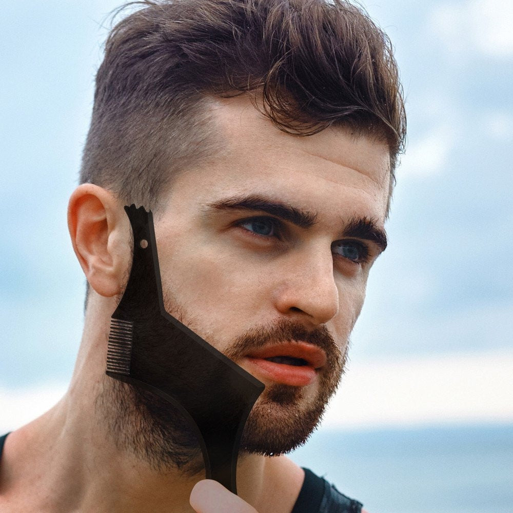 Beard Shaper Comb Tool