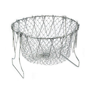 Foldable Stainless Steel Fry Basket