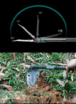 Multi-Purpose Folding Shovel