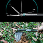 Multifunctional Tactical Shovel | 23-in-1 Multi-Purpose Tactical Shovel