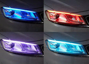 LED Lights For Cars | Flexible DRL LED Night
