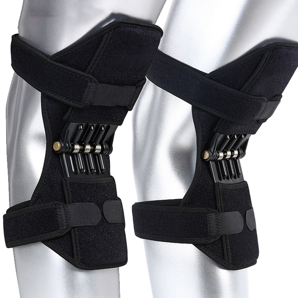 Anti-Gravity Spring Loaded Knee Brace | Power Knee Support Brace | Knee Supports & Braces