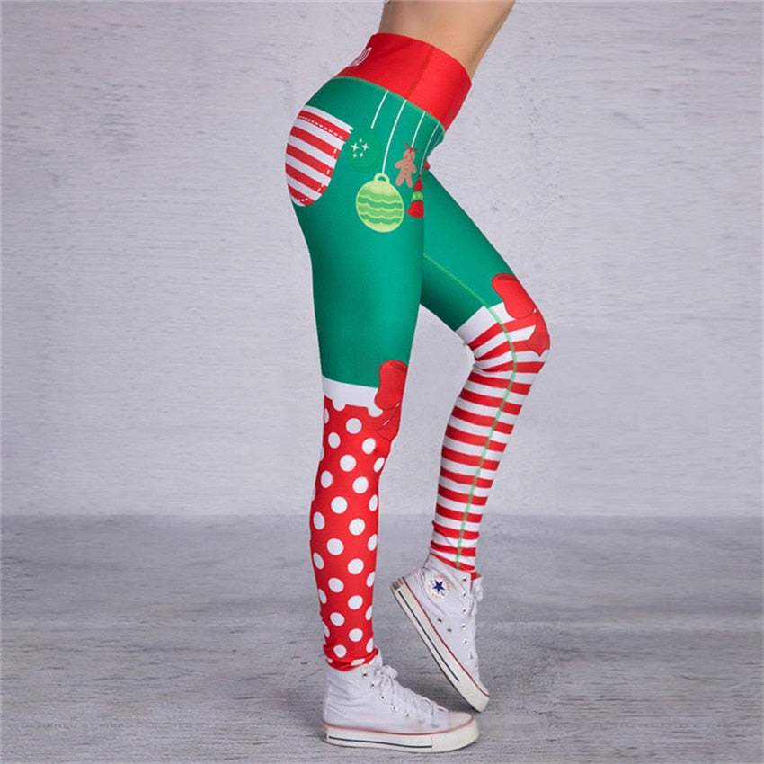 Christmas Holiday Festive Special 3D Print Leggings