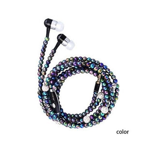 Pearl Necklace Earphone