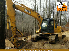 (SOLD) is 2005 John Deer 120C Excavator