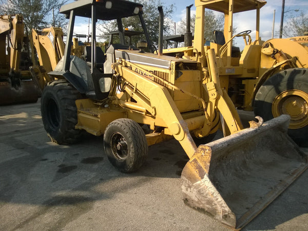 (SOLD) Caterpillar 416B Backhoe 2x4 Turbo Plus