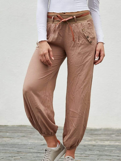High Waist Casual Sweatpants