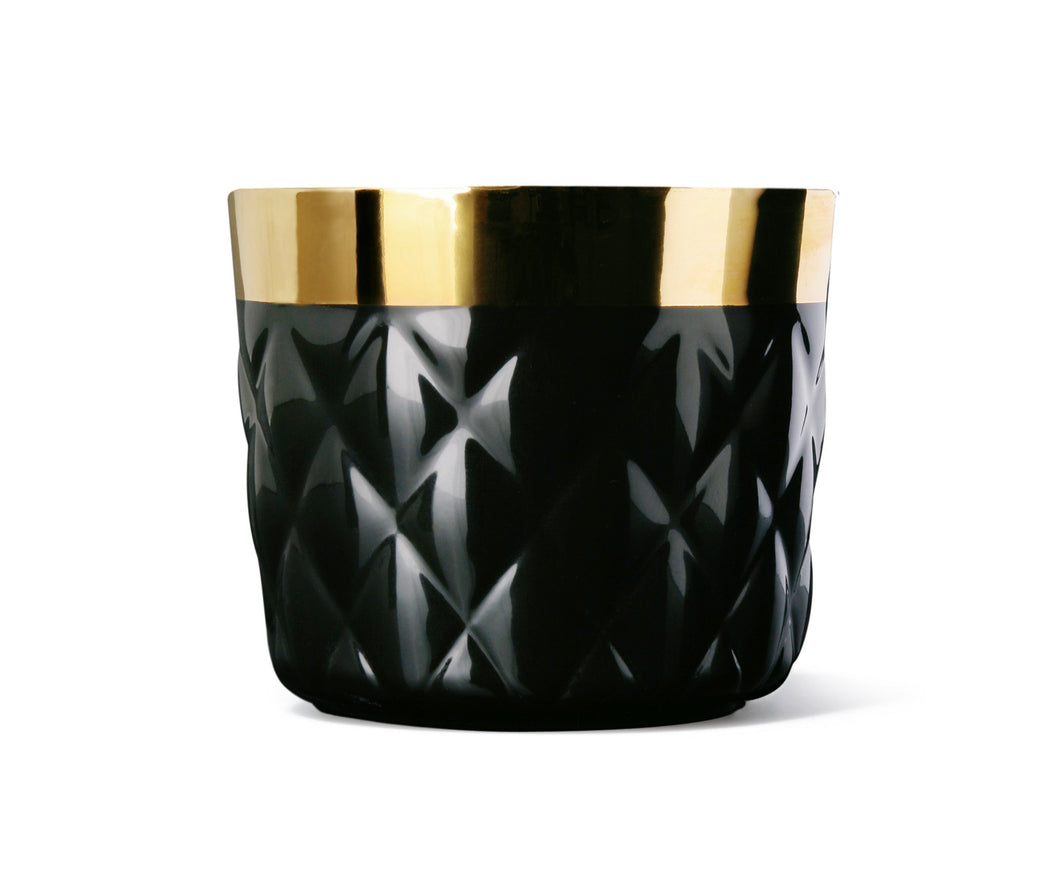 Sip of Gold - Noir Cushion