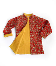 Load image into Gallery viewer, Red Chandur Jacket